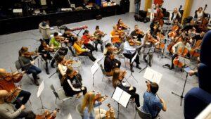 Unison Strings øver