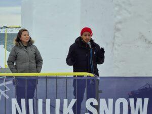 Åbning af Nuuk Snow Festival